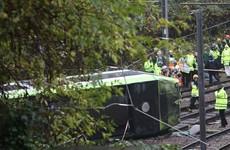 Tram driver held on suspicion of manslaughter after seven die in London crash