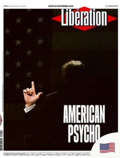 From 'American Psycho' to 'The West Wig': How the papers covered Trump