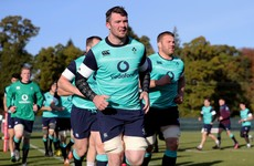 JOD, Ringrose and Holland start with five uncapped players on Ireland bench