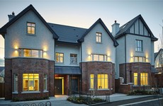 Two large new homes on offer in this stylish Killiney development