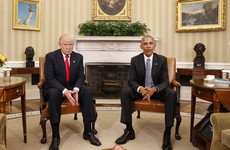 "Trump and Obama had an ""excellent conversation"" at the White House today"