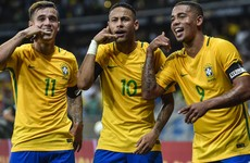 Neymar and Coutinho inspire Brazil to win over Argentina