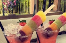 A pub in Dublin makes a cocktail based on those Fruit Pastilles ice pops