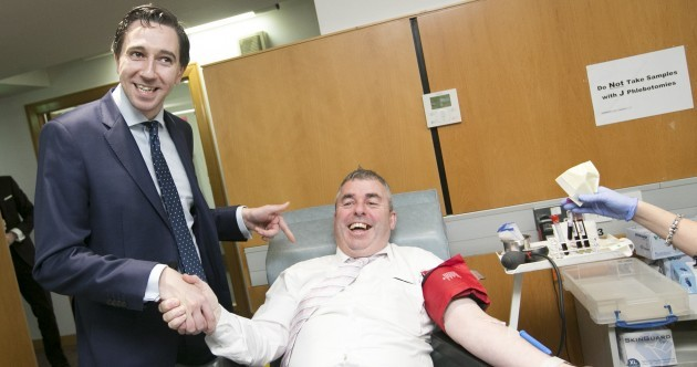 A day with Simon Harris: Cake, blood and what he really thinks of Enda