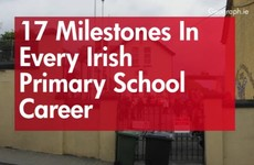 17 milestones in every Irish primary school career