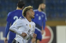 Arsenal fans shed a tear tonight as Serge Gnabry scored a hat-trick on German debut