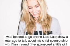 Laura Whitmore has hit out at the Late Late Show after Katie Hopkins' appearance