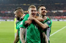 McClean strike sends Ireland top of the group after first-ever win in Vienna