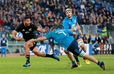 All Blacks get over Ireland disappointment with emphatic defeat of Italy