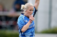 Joy Neville made her latest piece of Irish rugby history yesterday