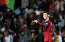Cristiano Ronaldo equals Robbie Keane's international goalscoring record