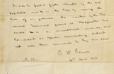 "Pearse 1916 surrender letter ""could leave Ireland"" after upcoming auction"