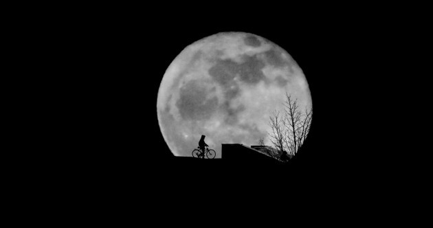 As the moon rises over Ireland at 5pm, it will be the biggest it's been in 68 years