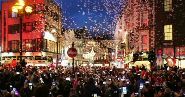 Huge crowds not expected at Henry St lights ceremony after Grafton St event described as 'mayhem'