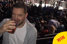 These two Irish guys blagged their way into the McGregor fight in New York for free