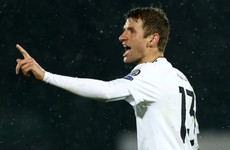 San Marino hit back at 'bully' Thomas Muller