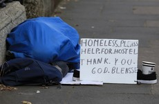Homeless numbers in south Dublin rose 60% in nine months