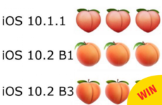 The peach emoji is back to looking like an arse again after an outcry from sexters