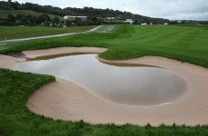 Rain stops play at Ryder Cup again