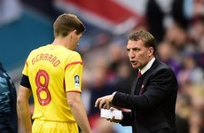 Celtic boss Brendan Rodgers plays down talk of Gerrard reunion