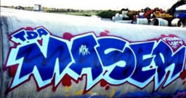 Sitting down with Maser: The man and the artist behind the blue Repeal wall