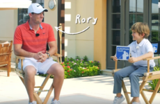 Watch: Probably the toughest interview of Rory McIlroy's career to date