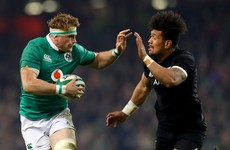As it happened: Ireland v New Zealand, November Test