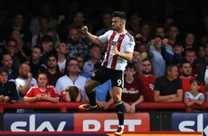 Linked with an Ireland call-up, Scott Hogan continues his fine Championship form