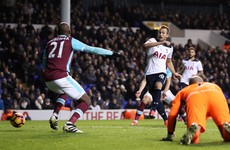 Harry Kane-inspired Spurs snatch dramatic late win over West Ham