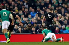 'I should have just dotted down': Beauden Barrett relieved to be given crucial try against Ireland