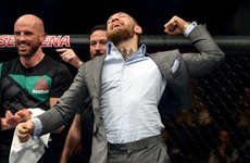 Lobov wins at UFC Belfast and McGregor leads the celebrations