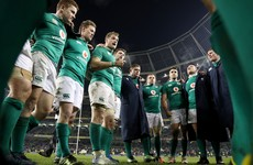 'They're disappointed they didn't win and that's a great thing for Irish rugby'