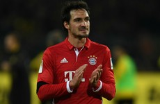 Matthaus criticises Hummels' dressing room drop-in