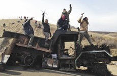 Over '165 people injured' as police and protestors clash at North Dakota pipeline