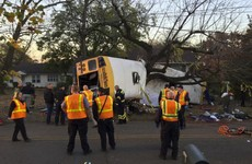 Six primary school students killed in Tennessee bus crash