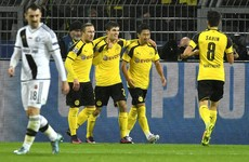 Dortmund and Legia Warsaw set new record for most goals scored in Champions League game