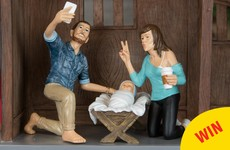 A 'hipster nativity set' exists and it's pretty much exactly how you'd imagine it