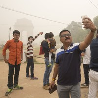 Spending a day in Delhi is the equivalent to smoking 40 cigarettes. We went to see for ourselves
