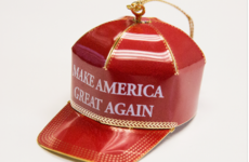Trump is selling gold-trimmed Make America Great Again Christmas ornaments for $149