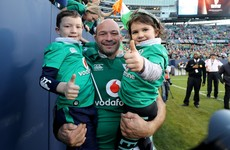 Ireland captain Rory Best set to join the exclusive 100-cap club