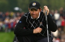 Harrington and McDowell putting for victory