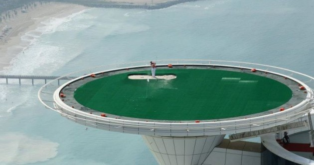 Top of the world, Ma! Rory McIlroy tees up on Dubai hotel