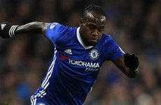 Chelsea move back on top as Moses winner hands Spurs their first league defeat