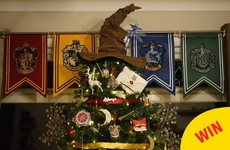 Harry Potter fans will absolutely adore this woman's magical Christmas tree