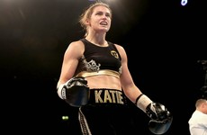 'She wasn't really up to much to be honest, so it was nice to get the stoppage'