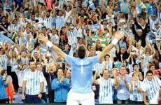 Del Potro rewarded for phenomenal comeback as Argentina claim maiden Davis Cup