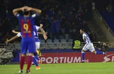 Barca's Sociedad hoodoo continues and Luis Enrique's side now trail Real by six points