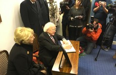 'Con la simpatico': President Higgins is first to sign book of condolences for Castro