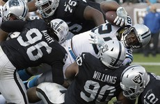 Raiders and Pats leave it late but remain on course for AFC Championship showdown