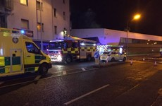 Firefighters battle blaze in Cork city